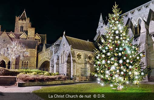 La Christ Church de nuit  D.R.