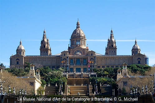 Le Musée National d'Art de la Catalogne à Barcelone G. Michael