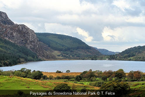 Paysages du Snowdonia National Park T. Felce