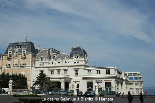 Le casino Bellevue à Biarritz Harrieta