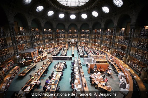 Bibliothèque nationale de France V. Desjardins