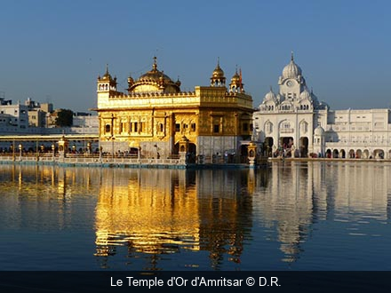 Le Temple d'Or d'Amritsar D.R.