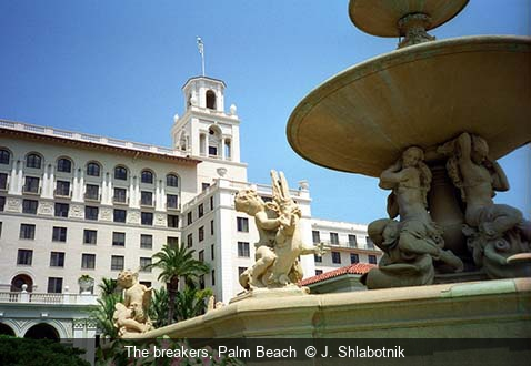 The breakers, Palm Beach  J. Shlabotnik