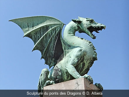 Sculpture du ponts des Dragons D. Albera