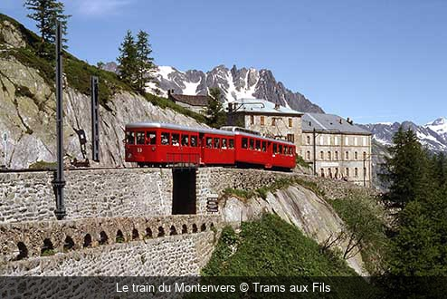 Le train du Montenvers Trams aux Fils