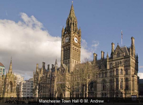 Manchester Town Hall M. Andrew