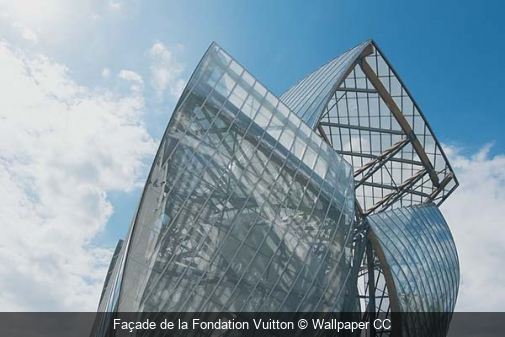 Façade de la Fondation Vuitton Wallpaper CC