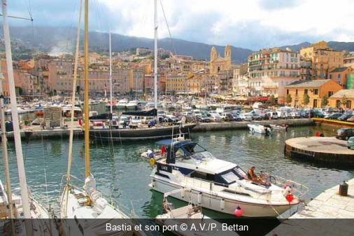 Bastia et son port A.V./P. Bettan