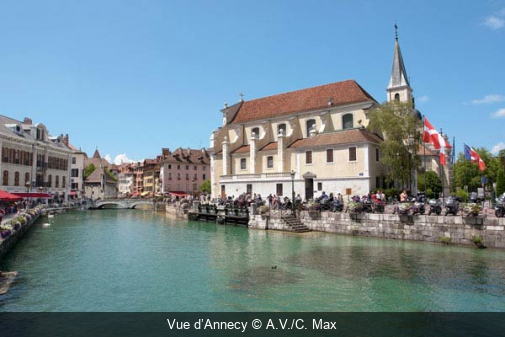 Vue d'Annecy A.V./C. Max