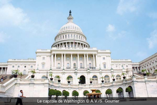 Le capitole de Washington A.V./S. Gourrier