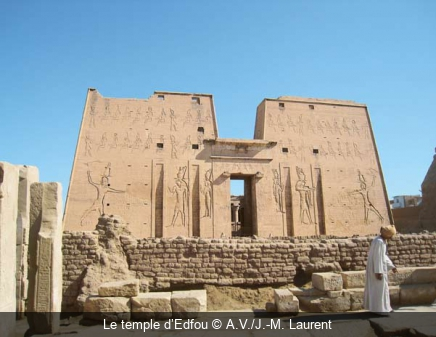 Le temple d'Edfou A.V./J.-M. Laurent