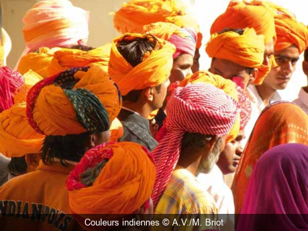 Couleurs indiennes A.V./M. Briot