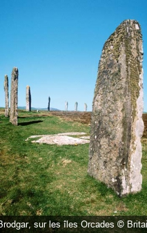 Ring of Brodgar, sur les îles Orcades Britainonview