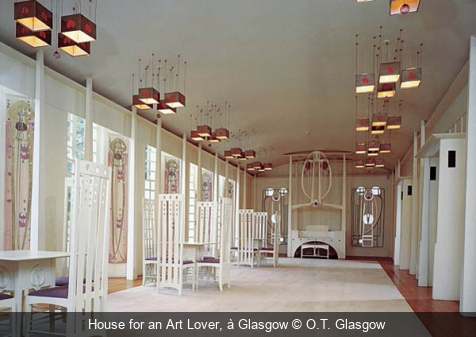 House for an Art Lover, à Glasgow O.T. Glasgow