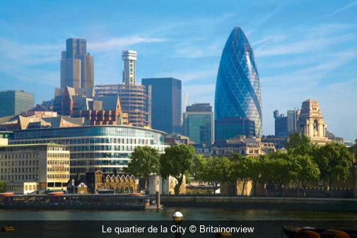 Le quartier de la City Britainonview