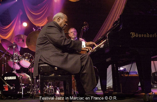 Festival Jazz in Marciac en France D.R.