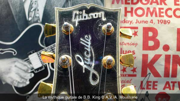 La mythique guitare de B.B. King A.V./A. Moussarie