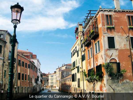 Le quartier du Cannaregio A.V./V. Bourrel