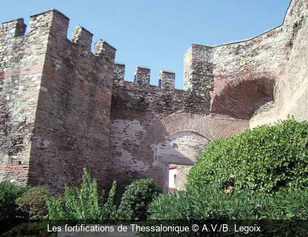 Les fortifications de Thessalonique A.V./B. Legoix