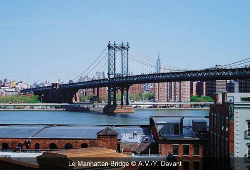 Le Manhattan Bridge A.V./Y. Davant