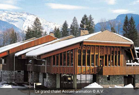 Le grand chalet Accueil-animation