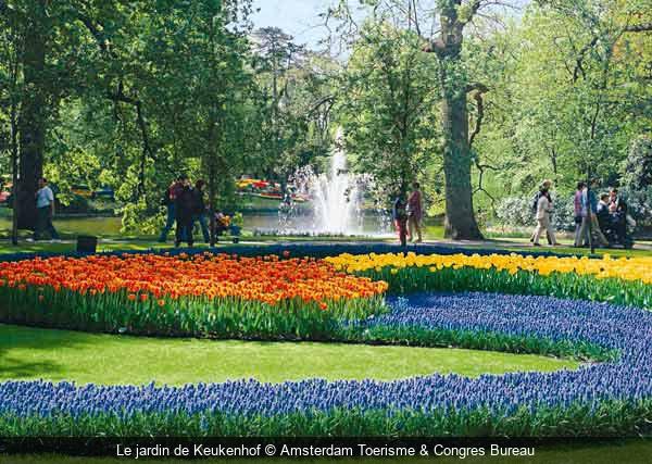 Escapade pays bas jardins moulins et polders des pays bas for Jardin keukenhof