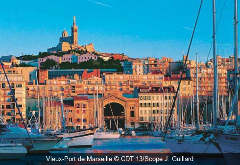 Vieux-Port de Marseille CDT 13/Scope J. Guillard