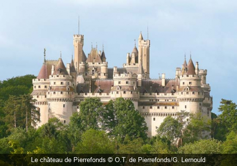 Le château de Pierrefonds O.T. de Pierrefonds/G. Lernould