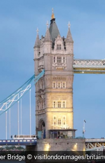 Tower Bridge visitlondonimages/britainview