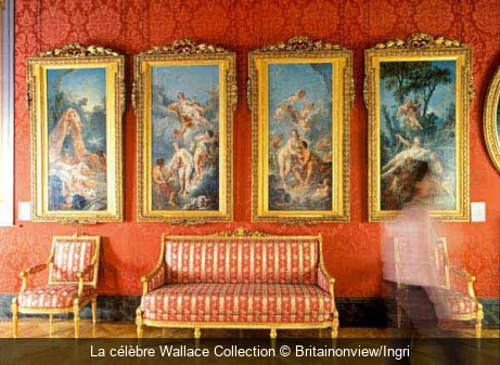 La célèbre Wallace Collection Britainonview/Ingri