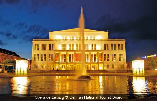 Opéra de Leipzig German National Tourist Board