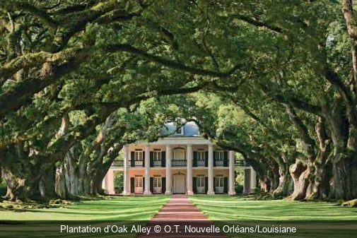 Plantation d'Oak Alley O.T. Nouvelle Orléans/Louisiane