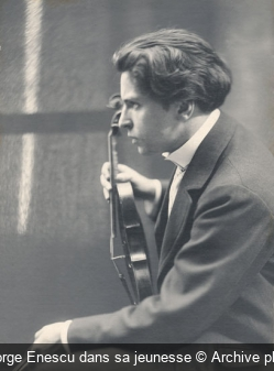 George Enescu dans sa jeunesse Archive photo