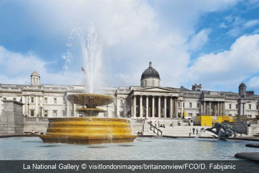 La National Gallery visitlondonimages/britainonview/FCO/D. Fabijanic