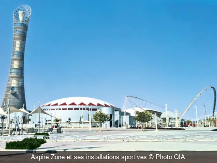 Aspire Zone et ses installations sportives Photo QIA