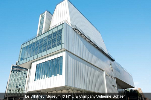 Le Whitney Museum NYC & Company/Julienne Schaer