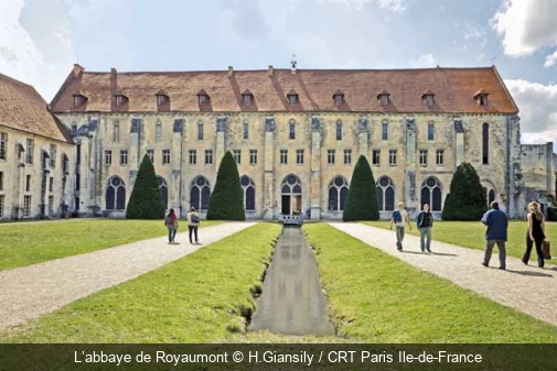 L'abbaye de Royaumont H.Giansily / CRT Paris Ile-de-France