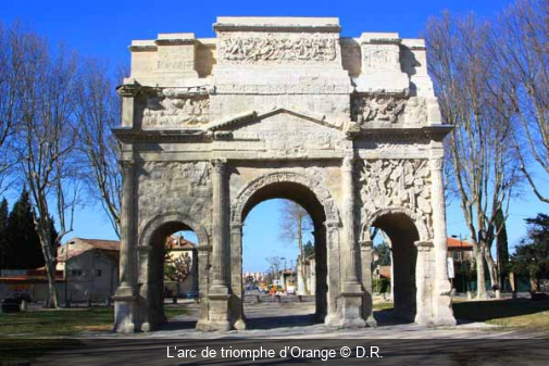 L'arc de triomphe d'Orange D.R.