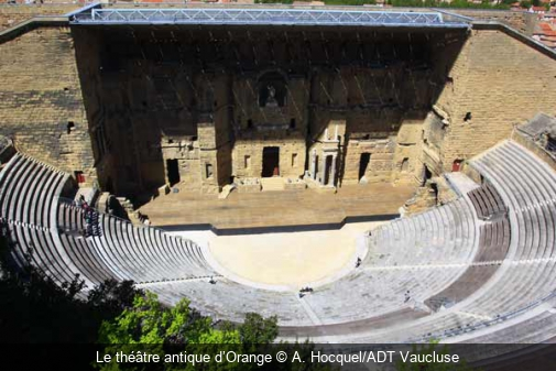 Le théâtre antique d'Orange A. Hocquel/ADT Vaucluse