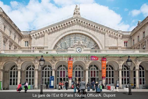 La gare de l'Est Paris Tourist Office/A. Dupont