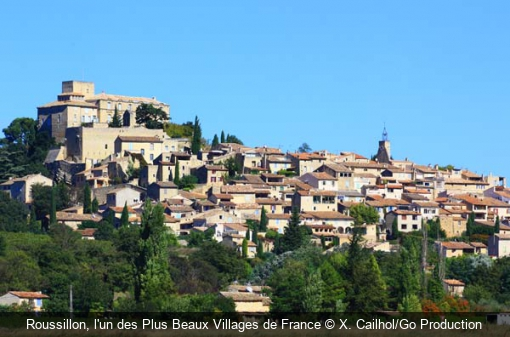 Roussillon, l'un des Plus Beaux Villages de France X. Cailhol/Go Production