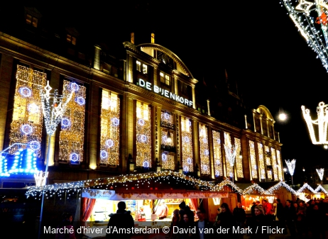 Marché d'hiver d'Amsterdam David van der Mark / Flickr