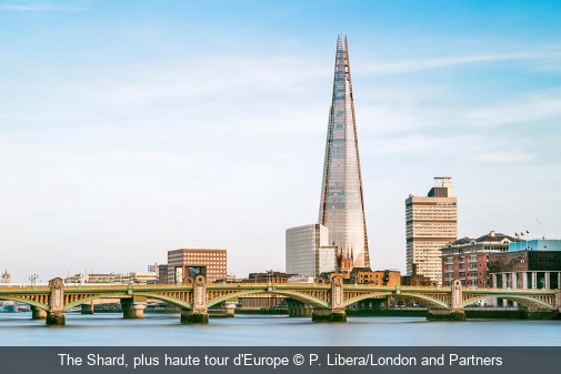 The Shard, plus haute tour d'Europe P. Libera/London and Partners
