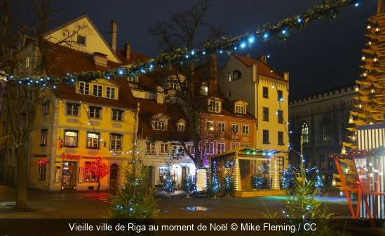 Vieille ville de Riga au moment de Noël Mike Fleming / CC